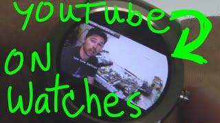 How to watch youtube on smartwatch