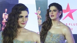 Zareen Khan In A BOLD Outfit At Star Screen Awards 2016