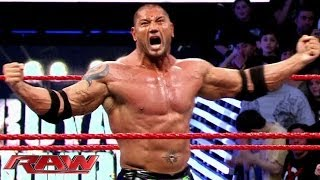 Batista is coming to the Royal Rumble on Sunday, Jan. 26