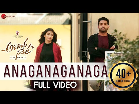Xxx Mp4 Anaganaganaga Full Video Aravindha Sametha Jr NTR Pooja Hegde Thaman S 3gp Sex