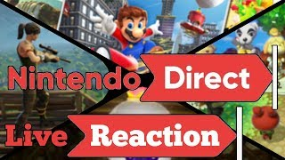 Nintendo Direct E3 2018 - Live Reaction (Smash Switch, Animal Crossing and more?)