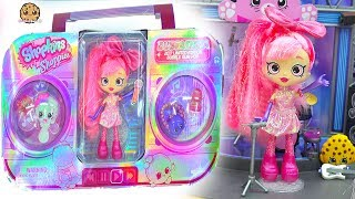 Limited Edition Shopkins Shoppies Doll SDCC  with Exclusives - Cookie Swirl C Video