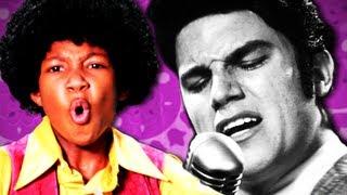 Michael Jackson VS Elvis Presley.  Epic Rap Battles of History Season 2.