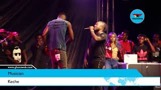 Ebony's Tribute Concert: Keche takes fans down memory lane with 'Pressure'