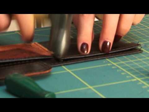 Как научиться делать изделия из кожи своими руками 28