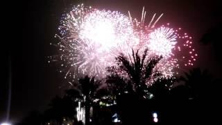 "Fireworks at King Abdullah park riyadh saudi arabia 2017 "" cerebration of eid 1438 H """