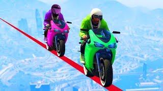 JELLY vs. SANNA COUPLE RACING ON GTA 5! (GTA 5 Funny Moments)