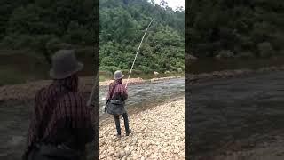 River monster caught on myntdu river by mutskhem ryngkhlem