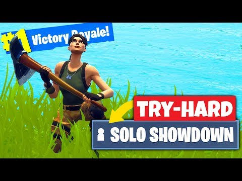 DEFAULT SKIN TROLLING in COMPETITIVE Fortnite Battle Royale