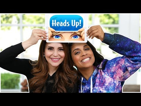 HEADS UP CHALLENGE ft Lilly Singh!