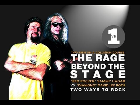 THE RAGE BEYOND THE STAGE - HAGAR VS. ROTH