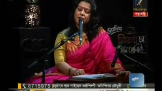 Anindita Choudhury Live Performance @ Maasranga tv (First Part)