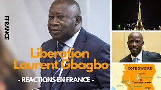 FRANCE : REACTIONS LIBERATION LAURENT GBAGBO