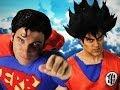 Goku vs Superman.  Epic Rap Battles of History