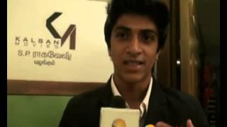 Actor Sharik Speaks at Pencil Movie Press Meet