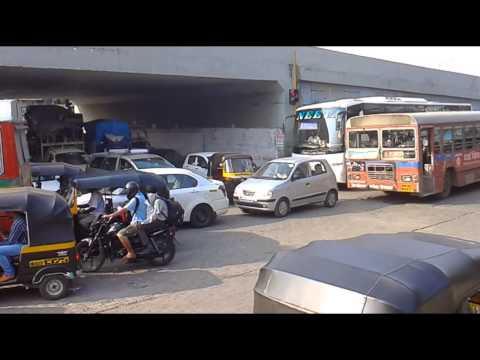 photos of traffic jam,at dahisar toll plaza