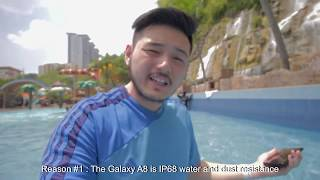 A Day Out With the Samsung Galaxy A8 (2018)