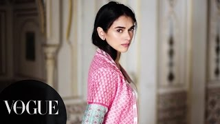 Aditi Rao Hydari Has Something to Say | Anita Dongre's New Collection - Fashion Film | VOGUE India
