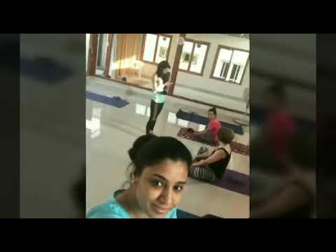 Actress Samyuktha Varma Hot Yoga trending video
