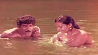 Malayalam Movie Arattu | Balank nair romance in river
