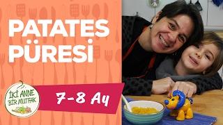 Bebekler İçin Patates Püresi - Balkabaklı (7-8 Ay)  | İki Anne Bir Mutfak