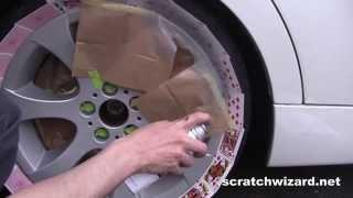 Alloy Wheel Repair Kit: Demonstration