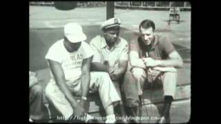 Rocky Marciano & Archie Moore - In Training 1955 (16mm film transfer)