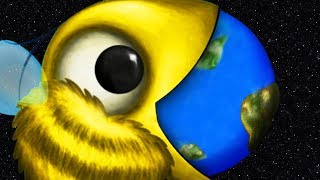 GIANT BEE EATS THE EARTH - Tasty Planet Forever Part 6 | Pungence