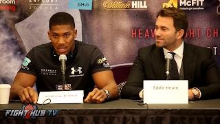 Anthony Joshua vs. Wladimir Klitschko Full New York Press Conference Video