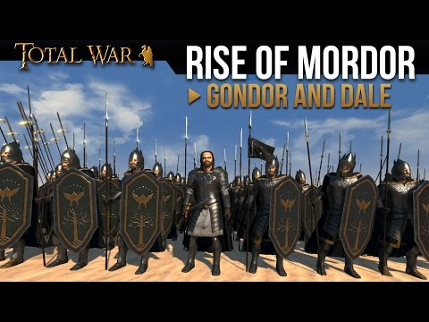 watch Rise of Mordor - Gondor & Dale (Army Overview)