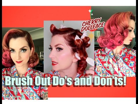 Xxx Mp4 Vintage Hair Do S And Don Ts Wet Set Brush Out CHERRY DOLLFACE 3gp Sex