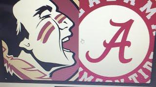 FSU vs Alabama College Week 1 Full Game