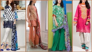 Latest Top Pakistani shalwar kameez designs 2017 | Latest salwar suits / Kurti for ladies