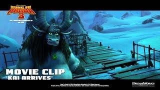 Kung Fu Panda 3 ['Kai Arrives' Movie Clip in HD (1080p)]