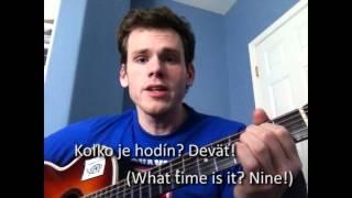 Američan Mark Christensen: Deväť - pieseň pre Slovensko ('Nine' - Song for Slovakia)