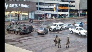 What we know so far: Zimbabwe military standoff