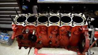 Toyota Supra rebuild:  Taking engine apart