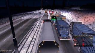 ETS 2 - Multiplayer [Winter] | Idiots, Fails, Traffic Jam,...Compilation #9