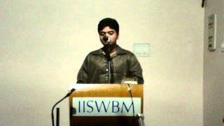 My 1st ever Recitation on stage