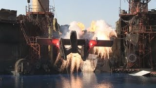 WaterWorld stunt show at Universal Studios Hollywood