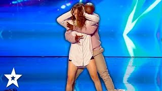 Emotional Dance Against DOMESTIC VIOLENCE on Got Talent France | Got Talent Global