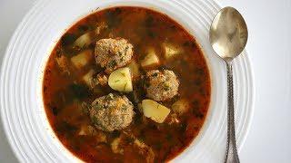 Meatball Soup Recipe - Kololakov Apoor - Armenian Food - Heghineh Cooking Show