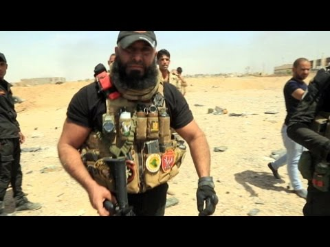 Meet Abu Azrael 'Iraq's Rambo' the most reknown fighter in Iraq