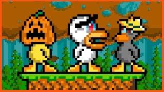 CÓMO GANAR HACIENDO NADA  | C/Exo y Luh | Duck Game | Sarinha