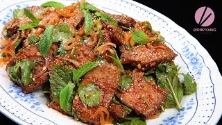 Asian at Home | Thai Beef Salad, Nam Tok