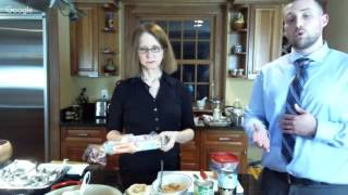 iDiet cooking demo with Dr Roberts - Jan 8 2017