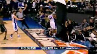 Duke Butler 2010 NCAA Final Highlights