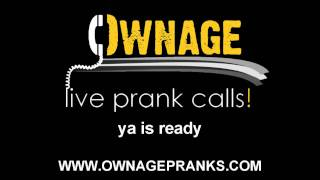 Angry Indian Pizza Owner Prank Call (SUBTITLED) - OwnagePranks