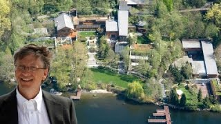 (World's Richest Person) Bill Gates's House And It's Crazy Facts