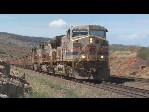 BIG trains : BIG Power : Iron ore trains in Western Australia